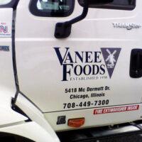 cab-door-lettering-Vanee-Foods-International-Tractor